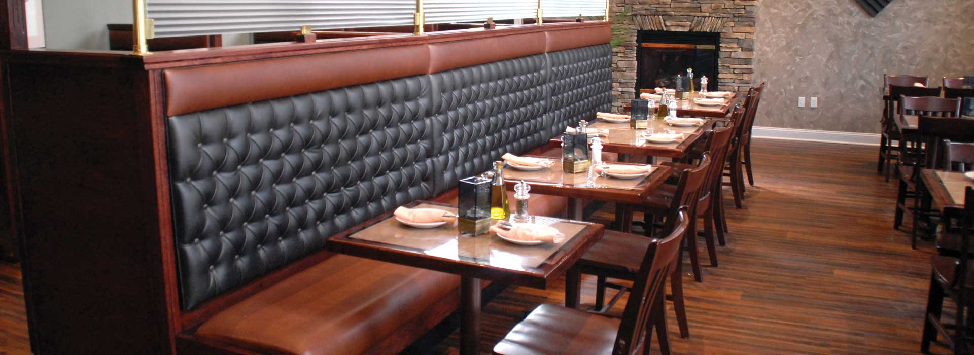 Restaurant Booths Tables And Chairs By New England Seating